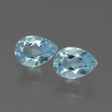 thumb image of 1.5ct Pear Facet Swiss Blue Topaz (ID: 433368)