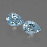 thumb image of 0.8ct Pear Facet Swiss Blue Topaz (ID: 433420)