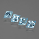thumb image of 2.2ct Rhomb Facet Swiss Blue Topaz (ID: 434521)