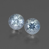 thumb image of 2ct Round Facet Sky Blue Topaz (ID: 436841)