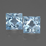 thumb image of 6.3ct Princess-Cut Sky Blue Topaz (ID: 436918)