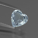 thumb image of 1.4ct Heart Facet Sky Blue Topaz (ID: 437134)