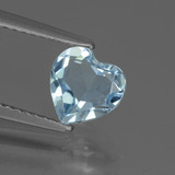 thumb image of 1.2ct Heart Facet Sky Blue Topaz (ID: 437137)