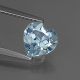 thumb image of 1.4ct Heart Facet Sky Blue Topaz (ID: 437141)