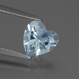 thumb image of 1.4ct Heart Facet Sky Blue Topaz (ID: 437144)