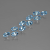 thumb image of 0.3ct Oval Facet Sky Blue Topaz (ID: 437162)