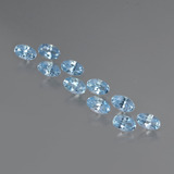 thumb image of 3ct Oval Facet Swiss Blue Topaz (ID: 437387)