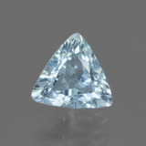 thumb image of 0.8ct Trillion Facet Swiss Blue Topaz (ID: 437422)