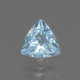 thumb image of 0.9ct Trillion Facet Swiss Blue Topaz (ID: 437432)