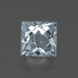 thumb image of 2.9ct Princess-Cut Sky Blue Topaz (ID: 437615)