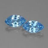 thumb image of 7.9ct Marquise Facet Swiss Blue Topaz (ID: 438298)
