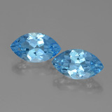 thumb image of 8.8ct Marquise Facet Swiss Blue Topaz (ID: 438299)