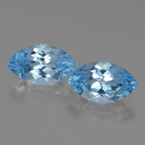 thumb image of 4.2ct Marquise Facet Swiss Blue Topaz (ID: 438384)