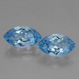thumb image of 8.2ct Marquise Facet Swiss Blue Topaz (ID: 438485)