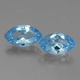 thumb image of 7.9ct Marquise Facet Swiss Blue Topaz (ID: 438534)