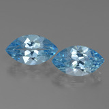 thumb image of 8.1ct Marquise Facet Swiss Blue Topaz (ID: 438554)