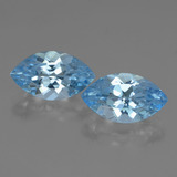 thumb image of 8.1ct Marquise Facet Swiss Blue Topaz (ID: 438619)