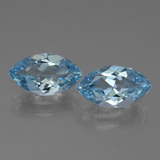 thumb image of 8ct Marquise Facet Swiss Blue Topaz (ID: 438653)