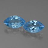 thumb image of 3.7ct Marquise Facet Swiss Blue Topaz (ID: 438658)