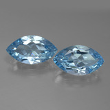 thumb image of 7.8ct Marquise Facet Swiss Blue Topaz (ID: 438660)