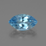 thumb image of 3.7ct Marquise Facet Swiss Blue Topaz (ID: 438698)