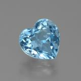 thumb image of 3.2ct Heart Facet Swiss Blue Topaz (ID: 438918)