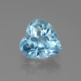 thumb image of 2.7ct Heart Facet Swiss Blue Topaz (ID: 438919)