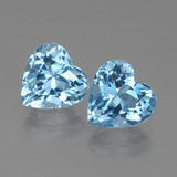 thumb image of 6.3ct Heart Facet Swiss Blue Topaz (ID: 438949)