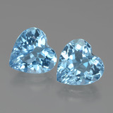 thumb image of 5.9ct Heart Facet Swiss Blue Topaz (ID: 438951)
