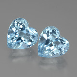 thumb image of 6.4ct Heart Facet Swiss Blue Topaz (ID: 438953)