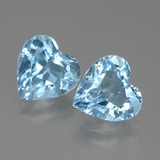 thumb image of 5.8ct Heart Facet Swiss Blue Topaz (ID: 438954)