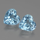 thumb image of 5.8ct Heart Facet Swiss Blue Topaz (ID: 438956)