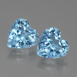 thumb image of 5.8ct Heart Facet Swiss Blue Topaz (ID: 438960)
