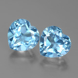thumb image of 5.9ct Heart Facet Swiss Blue Topaz (ID: 438998)