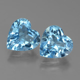 thumb image of 6ct Heart Facet Swiss Blue Topaz (ID: 439001)