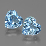 thumb image of 5.8ct Heart Facet Swiss Blue Topaz (ID: 439005)