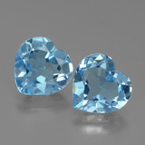 thumb image of 5.2ct Heart Facet Swiss Blue Topaz (ID: 439065)