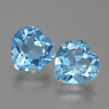 thumb image of 6ct Heart Facet Swiss Blue Topaz (ID: 439066)
