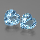 thumb image of 6.1ct Heart Facet Swiss Blue Topaz (ID: 439067)