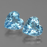 thumb image of 6ct Heart Facet Swiss Blue Topaz (ID: 439068)