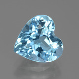 thumb image of 3.1ct Heart Facet Swiss Blue Topaz (ID: 439134)