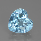 thumb image of 2.8ct Heart Facet Swiss Blue Topaz (ID: 439137)