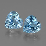 thumb image of 6.1ct Heart Facet Swiss Blue Topaz (ID: 439184)