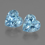 thumb image of 6.8ct Heart Facet Swiss Blue Topaz (ID: 439187)
