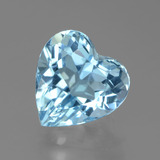 thumb image of 3.2ct Heart Facet Swiss Blue Topaz (ID: 439237)