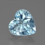 thumb image of 2.6ct Heart Facet Swiss Blue Topaz (ID: 439238)