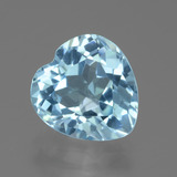 thumb image of 3.1ct Heart Facet Swiss Blue Topaz (ID: 439239)