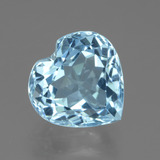 thumb image of 3.2ct Heart Facet Swiss Blue Topaz (ID: 439240)