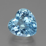 thumb image of 3.8ct Heart Facet Swiss Blue Topaz (ID: 439246)
