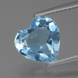 thumb image of 2.5ct Heart Facet Swiss Blue Topaz (ID: 439247)